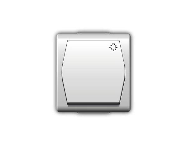 HERMES2 włącznik ,,światło' biały