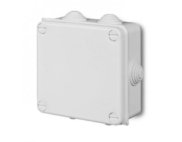 Puszka n/t hermetyczna PK-4 EP-LUX IP 55 z wkładem 5x10mm