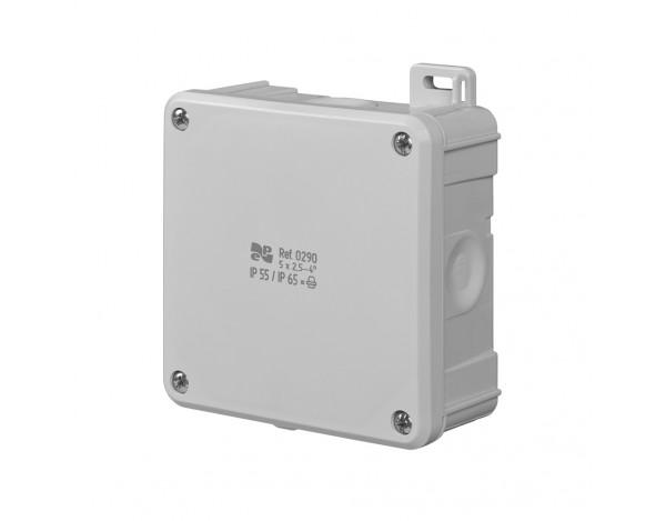 Puszka 2K 98x98x46 IP55/IP65
