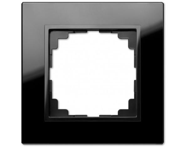 SENTIA ramka szklana czarna