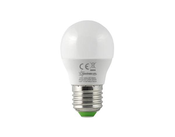 SPECTRUM LED E27 8W (48W) BARWA CIEPŁA