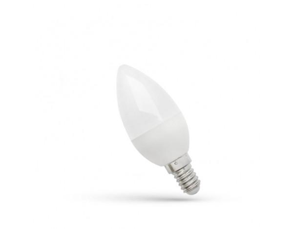 SPECTRUM LED ŚWIECZKA E14 6W (41W) BARWA CIEPŁA
